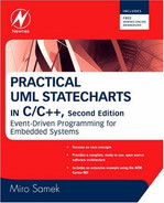 Cover of Practical UML Statecharts in C/C++, 2nd Edition