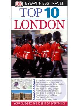 DK Eyewitness Top 10 Travel Guides: London