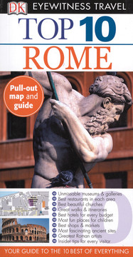 DK Eyewitness Top 10 Travel Guides: Rome