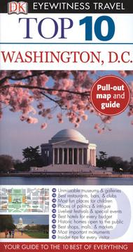 DK Eyewitness Top 10 Travel Guides: Washington, D.C.