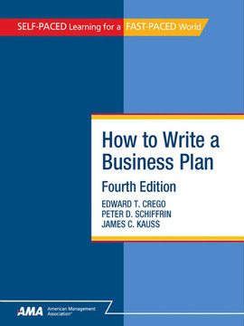 How To Write A Business Plan, Fourth Edition
