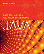 Cover of Data Structures and Algorithms Using Java