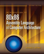 Cover of Introduction to 80x86 Assembly Language and Computer Architecture, 2nd Edition