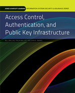 Cover of Access Control, Authentication, and Public Key Infrastructure