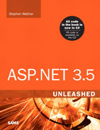 Cover of ASP.NET 3.5 Unleashed