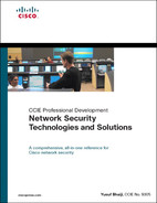 Cover of CCIE Professional Development Series Network Security Technologies and Solutions