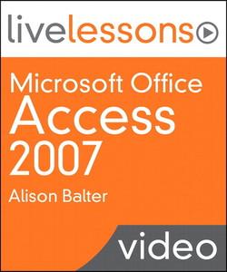 Microsoft Office Access 2007 (Video Training)