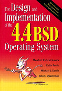 Cover of The Design and Implementation of the 4.4BSD Operating System