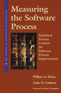 Cover of Measuring the Software Process: Statistical Process Control for Software Process Improvement