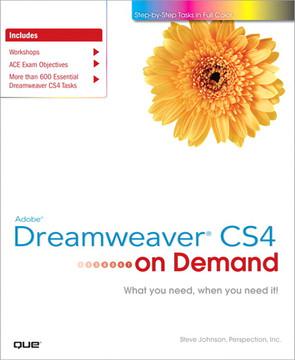 Adobe® Dreamweaver® CS4 on Demand