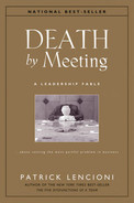 Cover of Death by Meeting: A Leadership Fable . . . About Solving the Most Painful Problem in Business