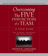 Cover of Overcoming the Five Dysfunctions of a Team: A Field Guide for Leaders, Managers, and Facilitators