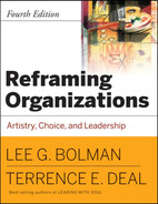 Cover of Reframing Organizations: Artistry, Choice, and Leadership