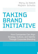 Cover of Taking Brand Initiative: How Companies Can Align Strategy, Culture, and Identity Through Corporate Branding