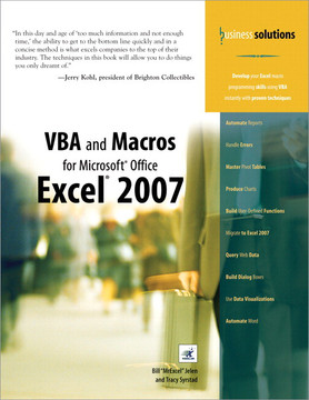 Business Solutions VBA and Macros for Microsoft