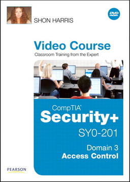 CompTIA Security+ SY0-201 Video Course Domain 3 - Access Control