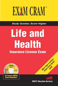 Life and Health Insurance License Exam Cram™