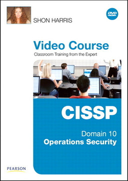 CISSP Video Course Domain 10 – Operations Security