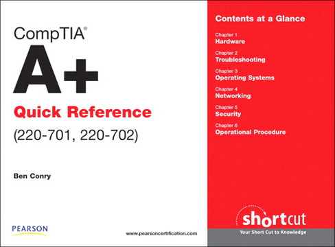 CompTIA A+ Quick Reference (220-701, 220-702)