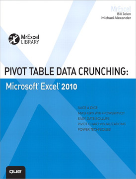 Pivot Table Data Crunching: Microsoft