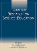 Cover of Handbook of Research on Science Education