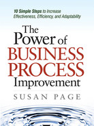 Cover of The Power of Business Process Improvement