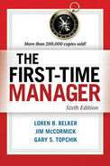 Cover of The First-Time Manager, 6th Edition