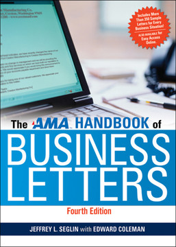 The AMA Handbook of Business Letters, 4th Edition