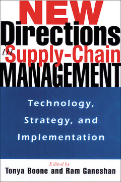 New Directions in Supply Chain Management