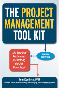 The Project Management Tool Kit, 3rd Edition