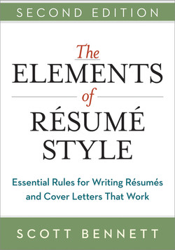 The Elements of Resume Style, 2nd Edition