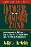 Book cover for Danger in the Comfort Zone