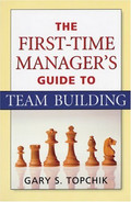 Cover of The First-Time Manager's Guide to Team Building