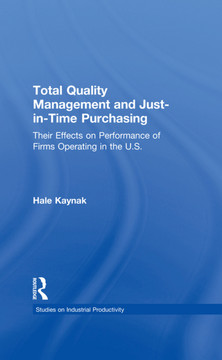 Total Quality Management and Just-in-Time Purchasing