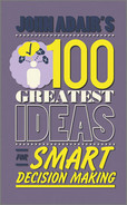 Cover of John Adair's 100 Greatest Ideas for Smart Decision Making