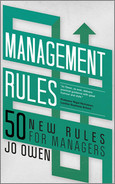 Cover of Management Rules: 50 New Rules for Managers