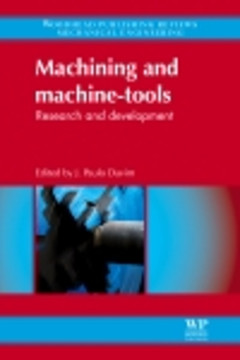 Machining and Machine-tools