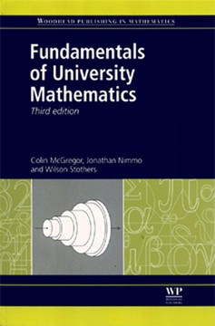 Fundamentals of University Mathematics, 3rd Edition