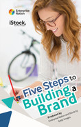 Cover of Five Steps to Building a Brand