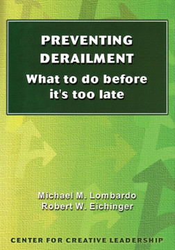 Preventing Derailment: What to Do Before It's Too Late