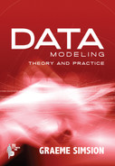 Cover of Data Modeling Theory and Practice