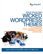 Cover of Build Your Own Wicked Wordpress Themes