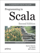 Book cover for Programming in Scala, Second Edition