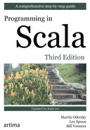 Cover of Programming in Scala, Third Edition