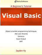 Cover of Visual Basic: A Beginner's Tutorial