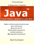 Cover of Java: A Beginner's Tutorial, 4th Edition (Updated for Java SE 8)