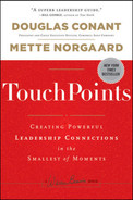 Cover of TouchPoints: Creating Powerful Leadership Connections in the Smallest of Moments