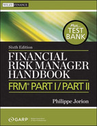 Cover of Financial Risk Manager Handbook + Test Bank: FRM Part I / Part II, 6th Edition