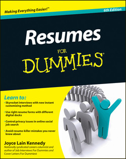 Resumes For Dummies, 6th Edition