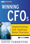 Cover of Winning CFOs: Implementing and Applying Better Practices, with Website